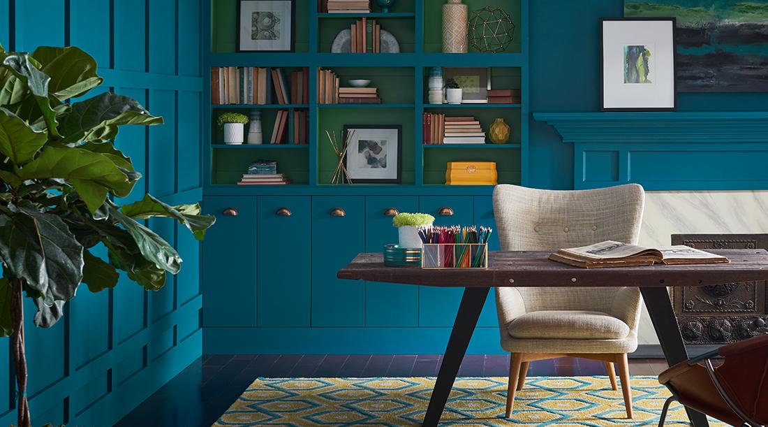 Pintura ideal para la habitación ideal