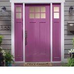 ¿Cuál es la mejor pintura para las puertas exteriores?