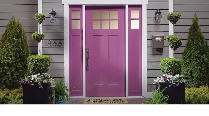 "Feature Image for Pintor Pro, Fall 2020 story: ""What is the Best Paint for Exterior Doors?"""