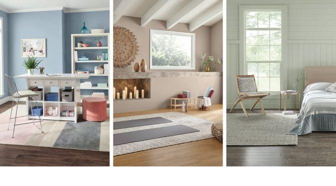 La colección Living Well™: las nuevas paletas