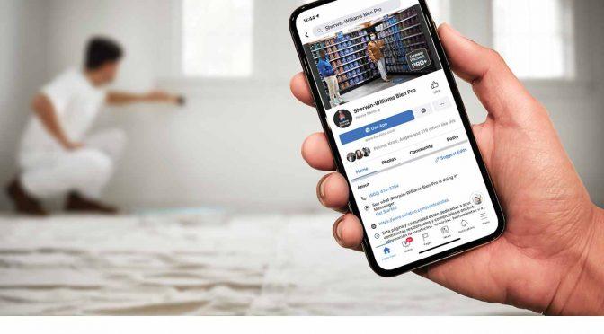 Lanzan en Facebook una nueva página 'Bien Pro' para el pintor contratista profesional