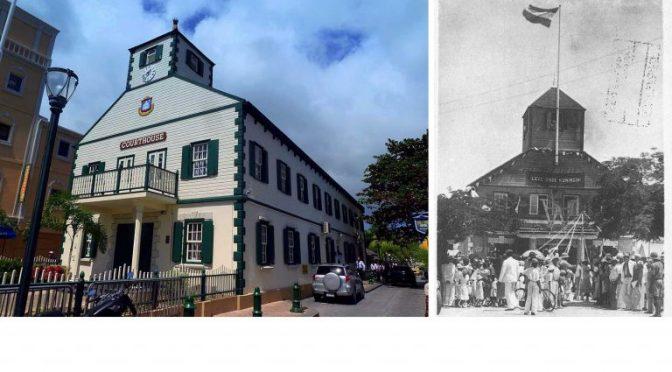 Después del huracán: Pintores restauran un monumento caribeño de 228 años de antigüedad